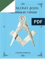 Catalogo 2010 MASONICA.ES México
