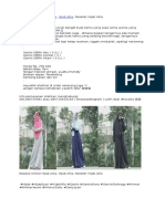 Etalase Online Hijab Alila, Hijab Alila, Reseller Hijab Alila