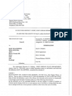 Kain Blackwing Charging documents