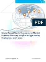 Global Smart Waste Management Market Demand & Opportunity Analysis 2023