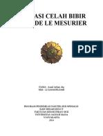 Operasi Celah Bibir Metode Le Mesurier