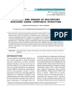 ANALYSIS and DESIGN of MULTISTORY Building Using Composite Structure