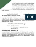 Analisis TMA, TMAO Dan TVB Metode Conway