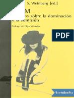 BDSM Estudios Sobre La Dominacion y La Sumision Thomas S Weinberg (1)