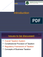 Introduction_Taxation System in Bangladesh