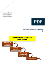 2. MF006 Lecture 2 - Introduction to Vectors