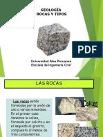 Tipos de Rocas Geo