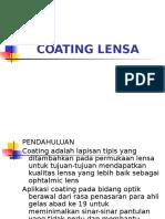 Coating Lensa