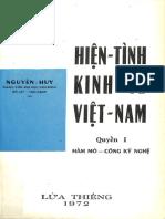 (1972) Hiện Tình Kinh Tế Việt Nam - Q1 - Hầm Mỏ - Công Kỹ Nghệ - Nguyễn Huy