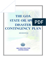 The Goa State Oil Spill Disaster Contingency Plan