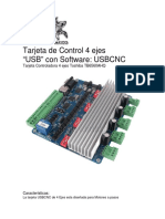 Manual TB6560 4 Ejes Usb
