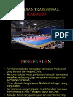 PERMAINAN TRADISIONAL - kabbadi