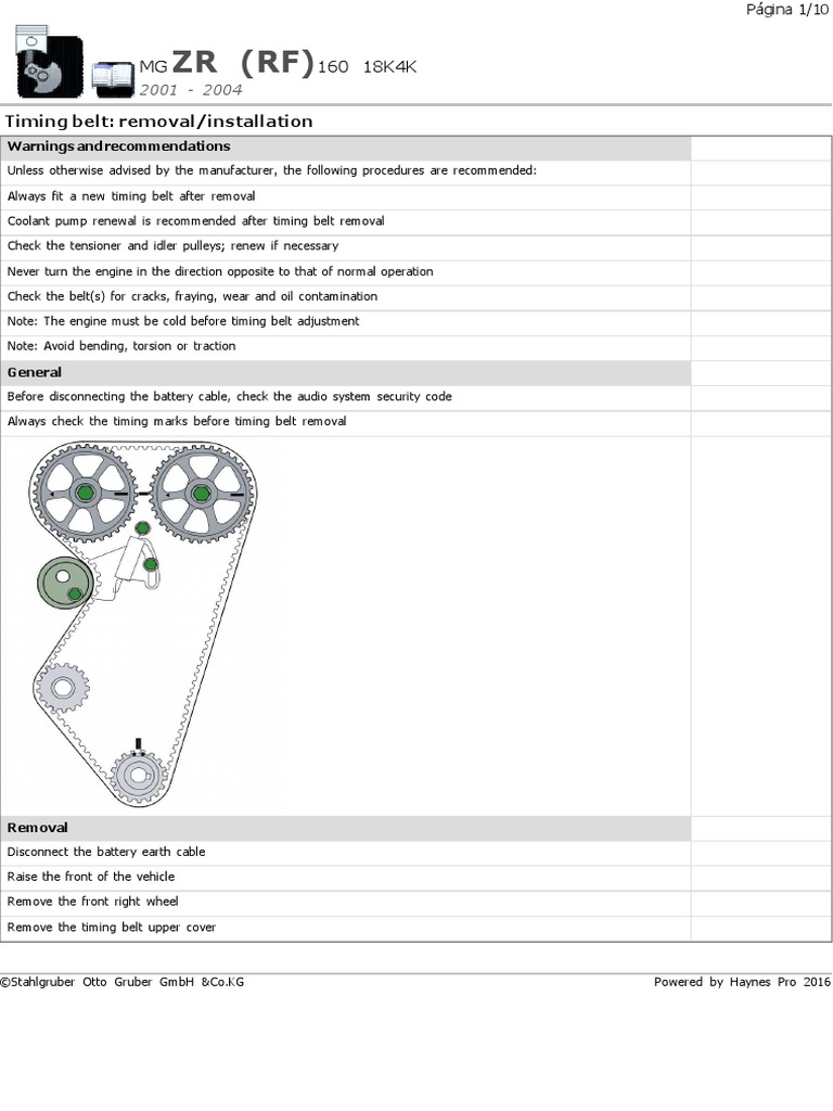 Java Printing Correas Rover Mg Zr 160 Belt Mechanical Vehicle General Timing Parts