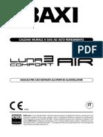 Manuale Utente Luna 3 Comfort Air