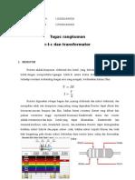 Tugas Rangkuman R-L-C Dan Transformator FIX