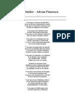 Analfabeţilor - Adrian Păunescu