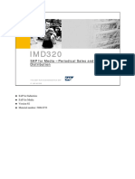IMD320_SAP for Media –Periodical Sales and Distribution EN
