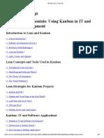 Kanban Fundamentals_ Using Kanban in IT and Software Development