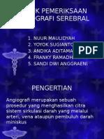 Teknik Pemeriksaan Angiografi Serebral