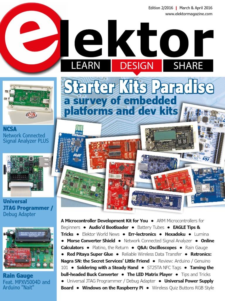 Elektor Electronics 2016 0304 Near Field Communication Standard 1n4007 Vs Schottky 1n5819 Club Fans Electronic Engineering