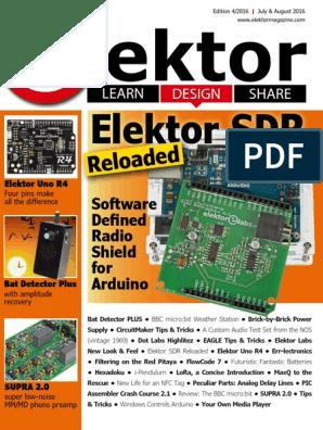 Elektor Electronics 2016-08 | Microsoft Visual Studio | Arduino