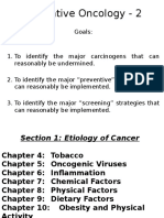Preventive Oncology 2-22-17