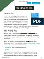 'MySQLi' for Beginners - Codular