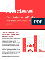 Audara Features - CCS Manager (0116)