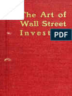 Moody, J _ Art of Wall Street Investing
