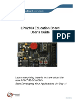 LPC2103 Education Board Users Guide