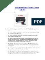 Cara Memperbaiki Masalah Printer Canon MP 287.docx