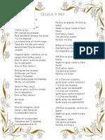 Canciones Célula # 5