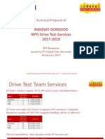 Technical Proposal Response of Indosat DT NPO