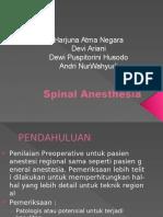 Spinal Anesthesia Edit Angkatan q