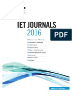 IET Journal and Conference