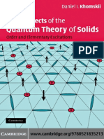 Basic Aspects Of the Quantum Theory Of Solids_Khomskii.pdf