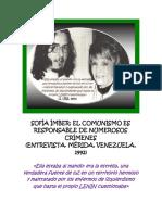 Diálogo Con Sofía Ímber en Mérida, Venezuela (1992)