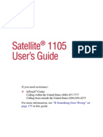 Manual Note Satellite 1105