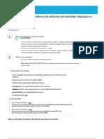 Aprobación y Registro de Reforma de Estatutos de Entidades Religiosas No Católicas