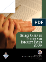 D.select Cases in DT and IDT 2009