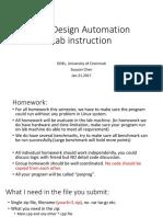 DFT Lab Instruction
