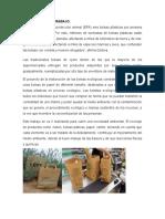 El Proyecto de La Elaboración de Las Bolsas Ecológicas Consiste en La Creación de Unas Bolsas de Papel de Diferente Tamaño