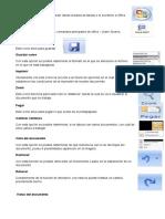 Partes de Word 2007