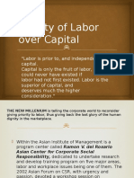 2 Priority of Labor Over Capital