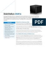 Synology DS416 Data Sheet Enu