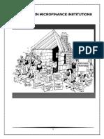 8.Handbook on Microfinance Institutions