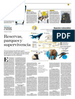 Reservas, Parques y Supervivencia