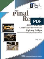 Accelerating Construction Process