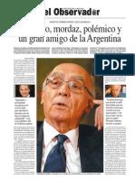 Saramago - La Cobertura de Diario Perfil