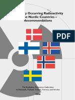 Nordisk Flag 2000 Radiation Norway